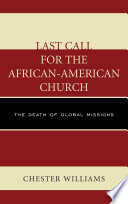 Last Call for the African American Church