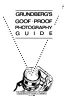 Grundberg s Goof proof Photography Guide Book