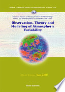 Observation  Theory and Modeling of Atmospheric Variability