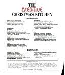 The Creative Christmas Kitchen