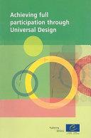 Achieving Full Participation Through Universal Design Pdf/ePub eBook