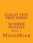 CogAT Test Prep Series   Number Puzzles