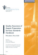 Quality Assurance of Aseptic Preparation Services Standards Handbook