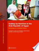 Scaling Up Nutrition In The Arab Republic Of Egypt PDF