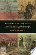 Privilege Versus Equality