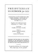 Presbyterian Handbook