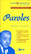 Jacques Prévert, Paroles