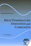 Introduction To High Temperature Oxidation And Corrosion Book PDF