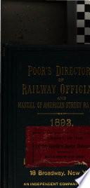 Poor s Directory of Railway Officials