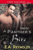 A Panther's Bite [Peyton City 1]