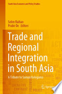 Trade And Regional Integration In South Asia Book PDF
