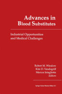 Advances in Blood Substitutes ebook