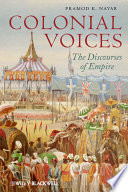 Colonial Voices Book