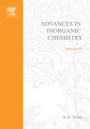 Pdf Advances in Inorganic Chemistry Telecharger