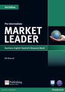 Market Leader 3rd Edition Pre-Intermediate Teacher's Resource Book for Pack