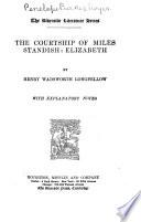 The Courtship of Miles Standish   Elizabeth