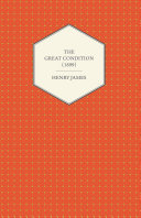 The Great Condition (1899) Pdf/ePub eBook
