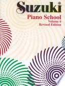 Suzuki Piano School - Volume 6 (Revised)