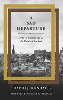A Sad Departure
