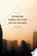 International Financial Institutions and Their Challenges