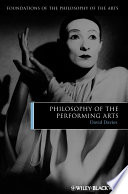 Philosophy of the Performing Arts.epub