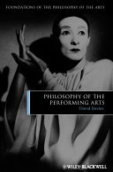 Philosophy of the Performing Arts