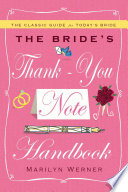 The Bride s Thank You Note Handbook Book