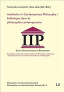 Aesthetics in Contemporary Philosophy