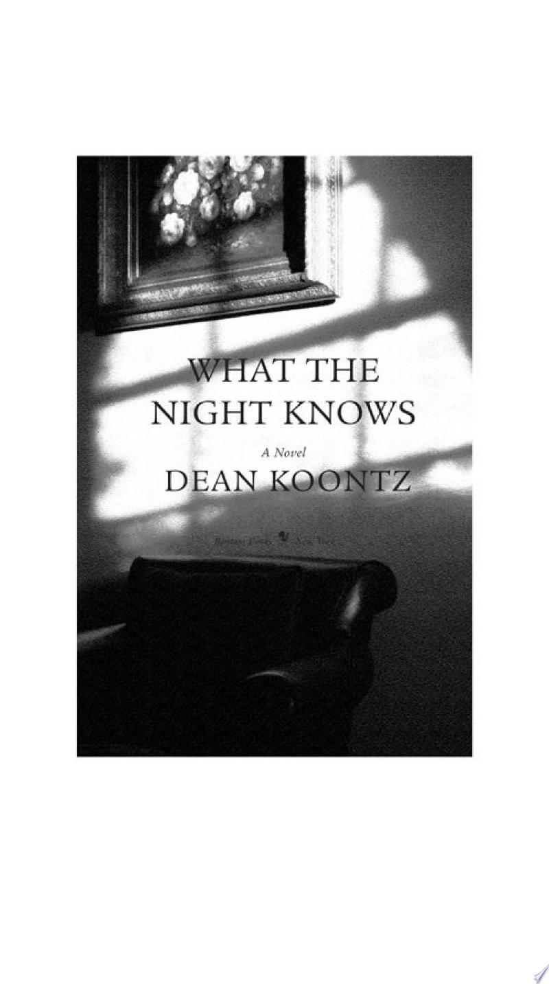 What the Night Knows (with bonus novella Darkness Under the Sun) banner backdrop