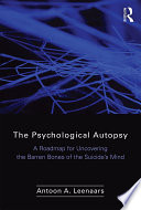 The Psychological Autopsy Book