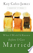 What I Wish I d Known Before I Got Married Book