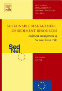 Sustainable Management of Sediment Resources Book