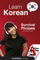 Learn Korean   Survival Phrases Korean