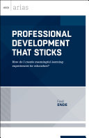 Professional Development That Sticks