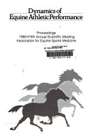 Dynamics of Equine Athletic Performance