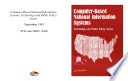 Computer-based national information systems : technology and public policy issues.