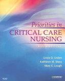 Priorities in Critical Care Nursing Book