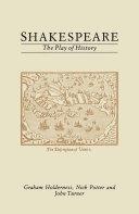 Shakespeare: The Play of History Pdf/ePub eBook