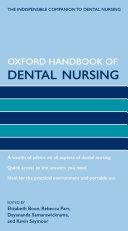 Oxford Handbook of Dental Nursing