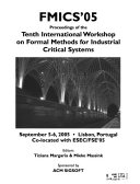 Proceedings of the     International Workshop on Formal Methods for Industrial Critical Systems