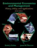 Environmental Economics and Management