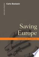 Saving Europe