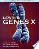 Lewin's Genes X