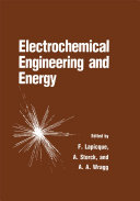 Electrochemical Engineering and Energy