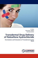 Transdermal Drug Delivery of Raloxifene Hydrochloride