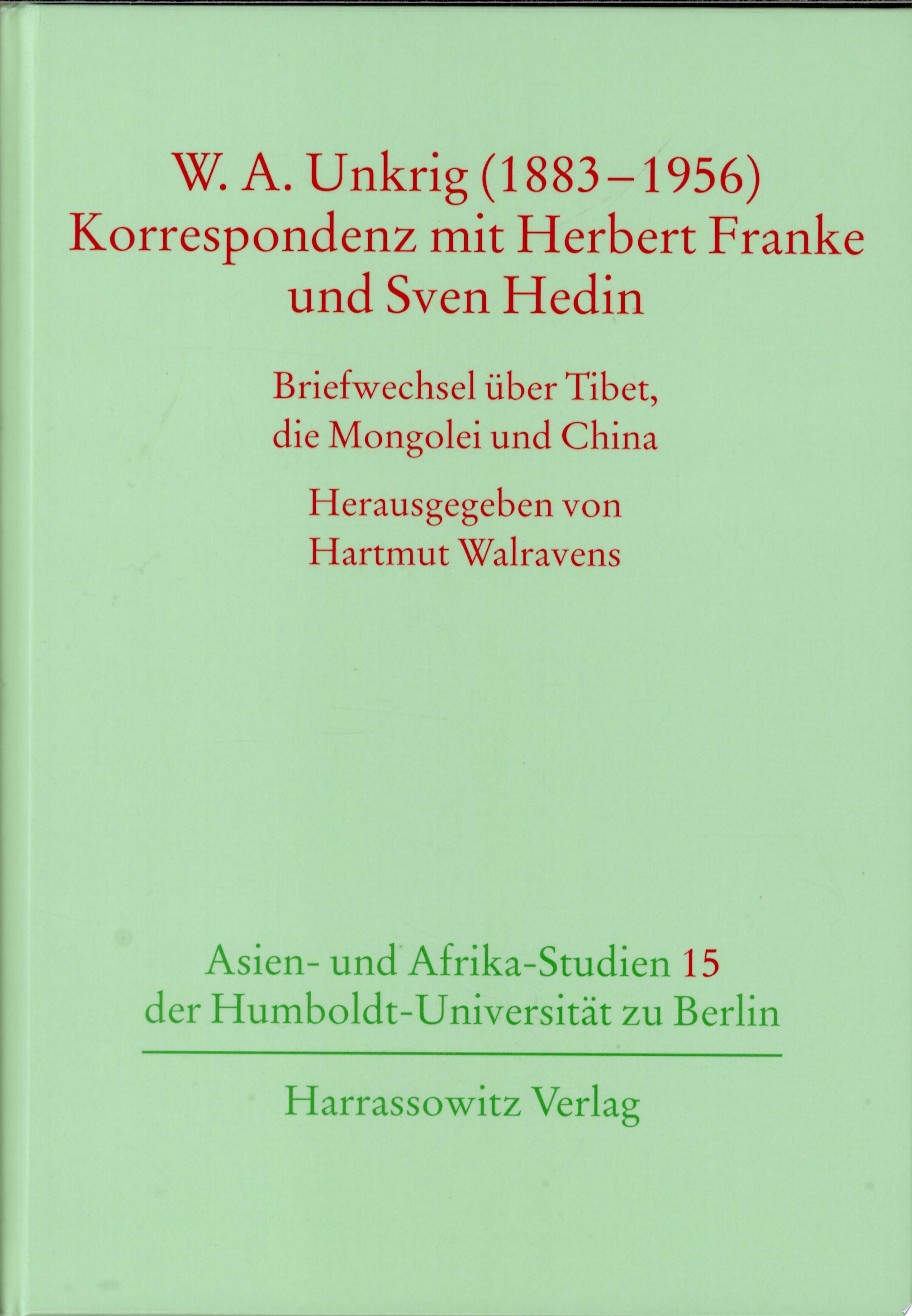W A  Unkrig  1883 1956
