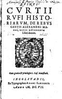 Historia M. Alexandri