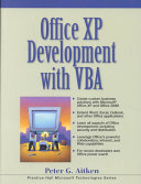 Office XP Development with VBA