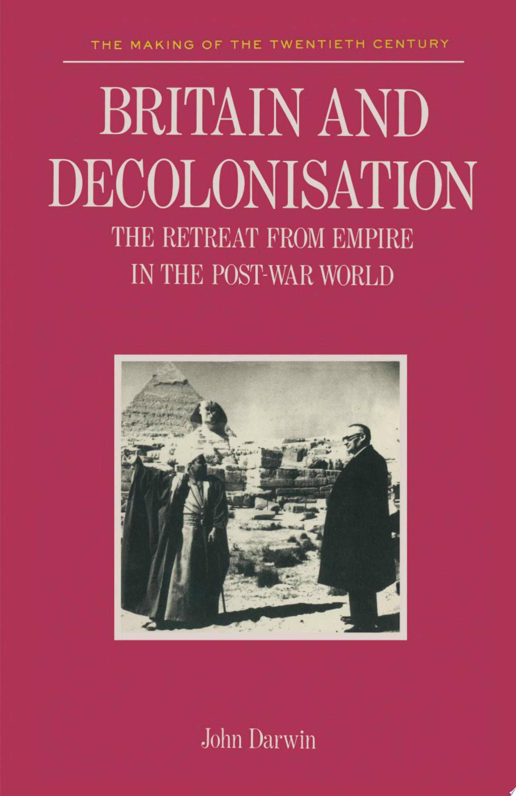Britain and Decolonisation