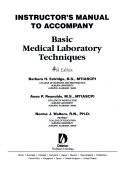 Basic Medical Lab Techniques Iml 4e